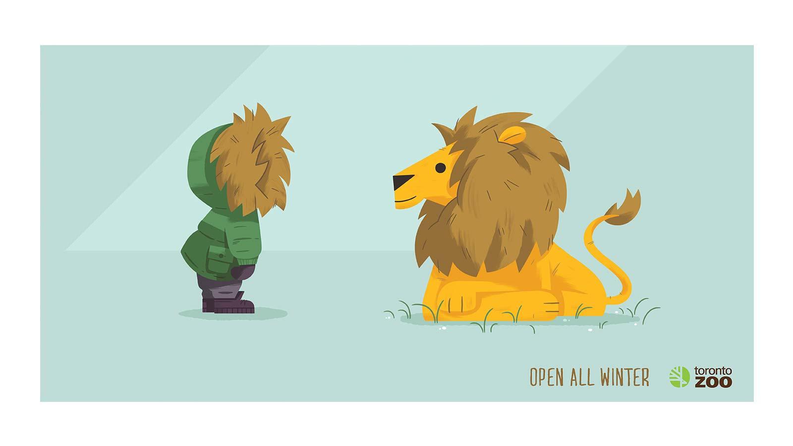 Zoo de Toronto   Campagne de marketing direct et d'affichage extérieur   Créativité, Publicité, Stratégie, Stratégie de marque