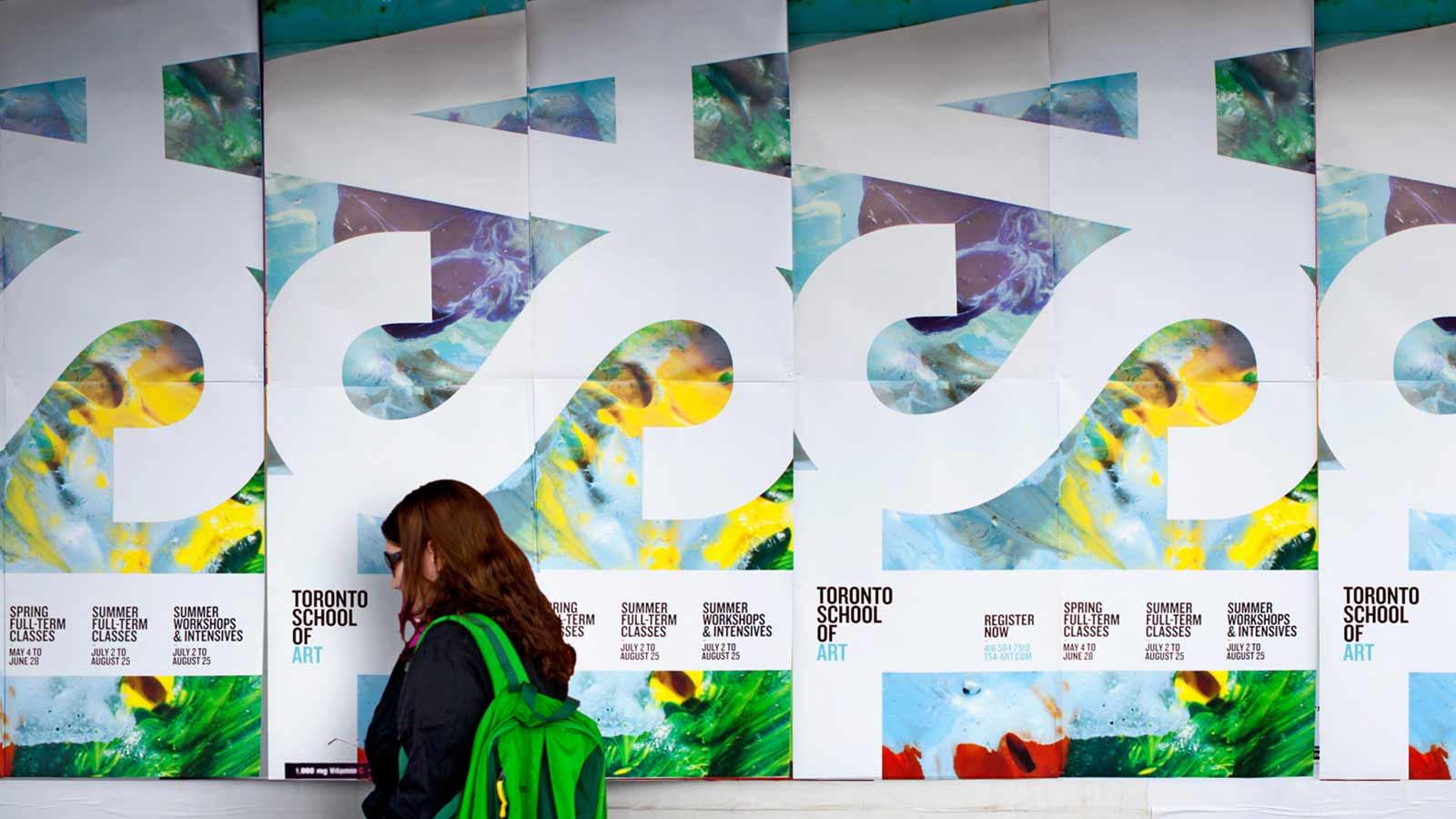 Toronto School of Art | Refonte de l'image de marque | Design, Design de site web, Développement de site web, Image de marque, Matérial collatéral, Mobilité adaptée, Stratégie de marque