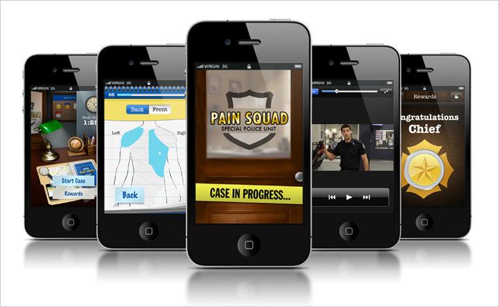 The Hospital for Sick Children | Application mobile Pain Squad | Application mobile, Développement d'application, Innovation numérique, Marketing numérique, Mobile, Mobilité adaptée, Stratégie