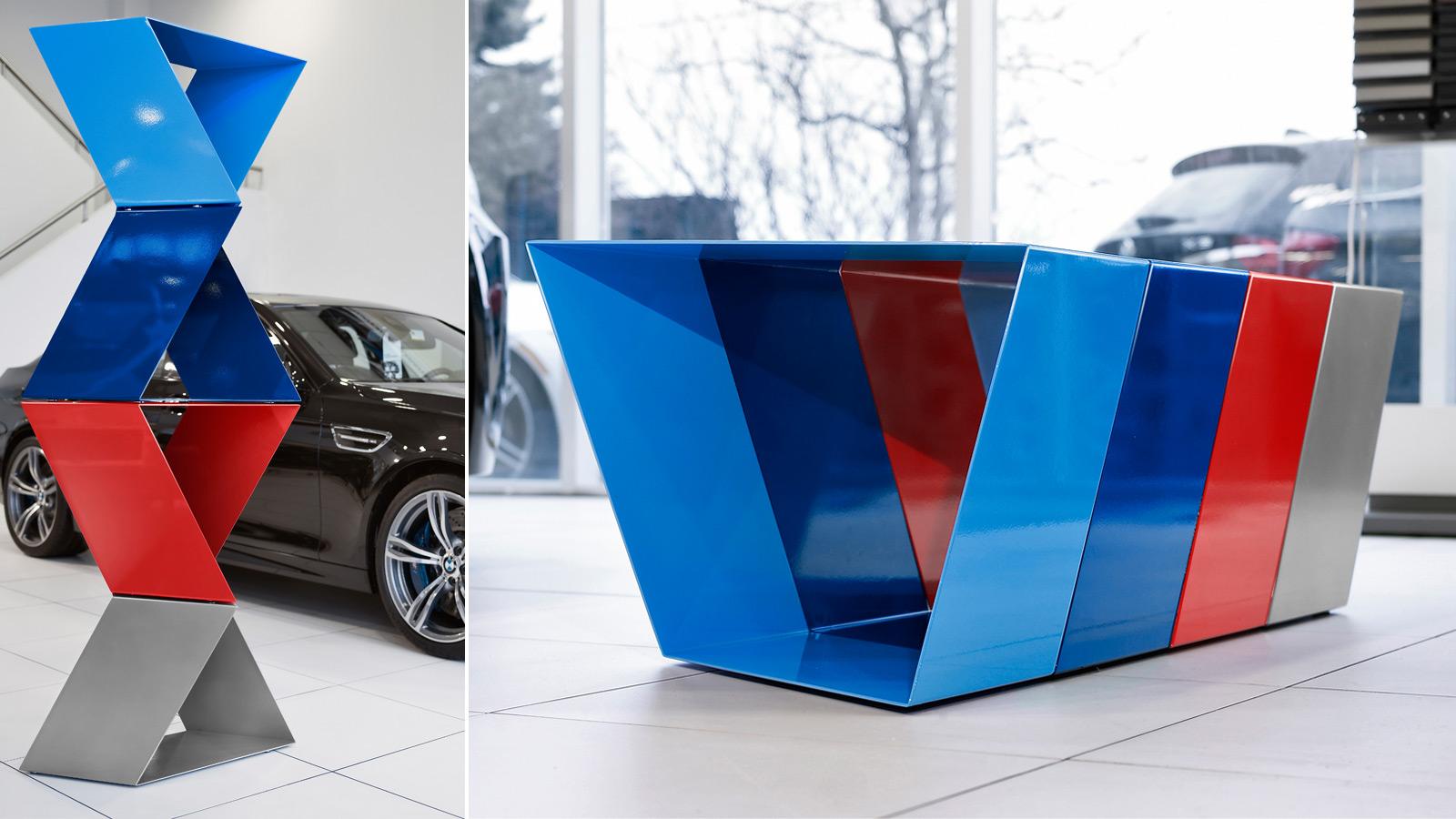 BMW Canada | Mobilier BMW M | Agence créative, Design, Publicité, Stratégie, Stratégie de marque