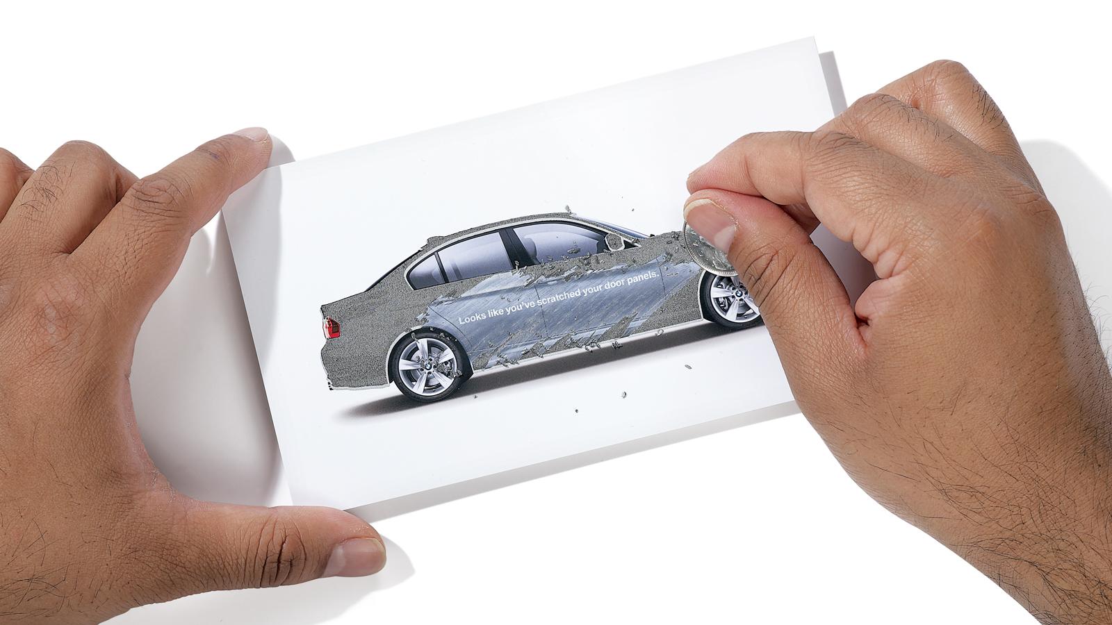 BMW Canada | Envoi postal BMW à gratter | Automobile, Marketing direct