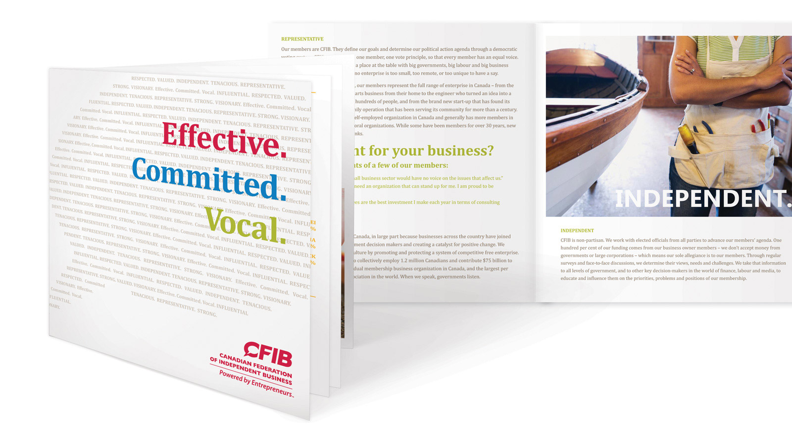 Canadian Federation of Independent Business | Brand Identity | Design