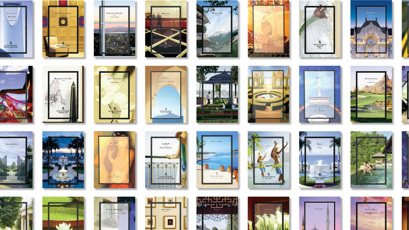 Four Seasons Hotels & Resorts | Brand Identity | Design