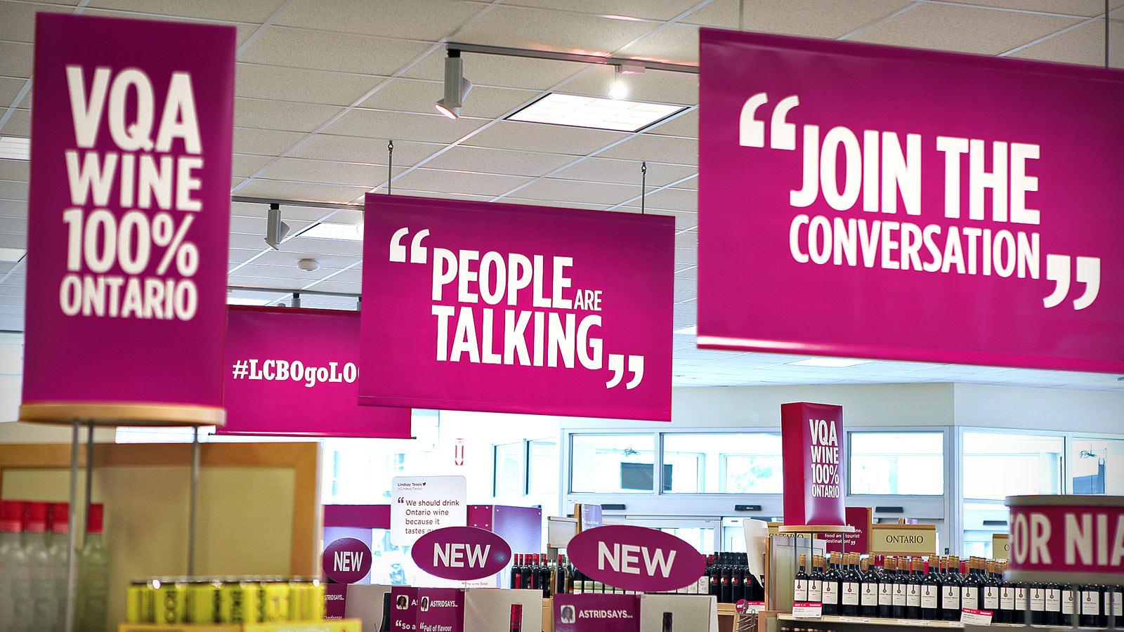 LCBO | goLOCAL | Design, Promotion en magasin