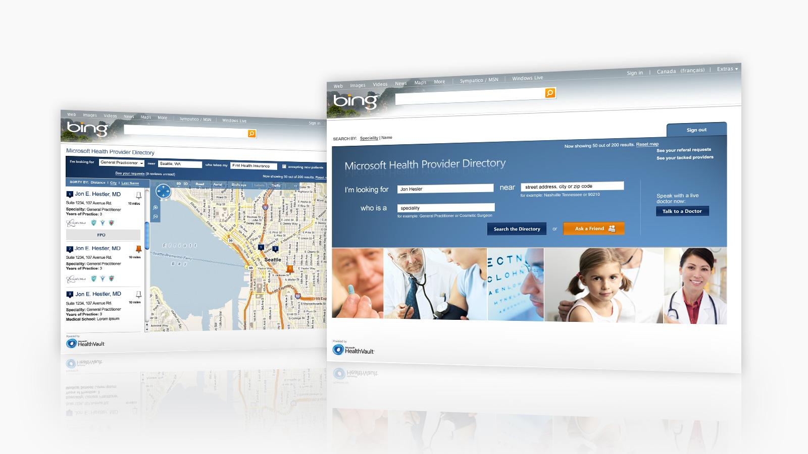 Microsoft Health   Portail santé Microsoft HealthVault   CRM, Développement d'application, Innovation numérique, Marketing numérique, Mobilité adaptée, Stratégie