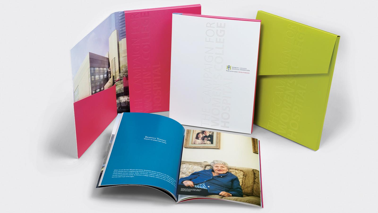 Women's College Hospital Foundation | Identité de marque et positionnement | Design, Imprimé, Non-lucratif