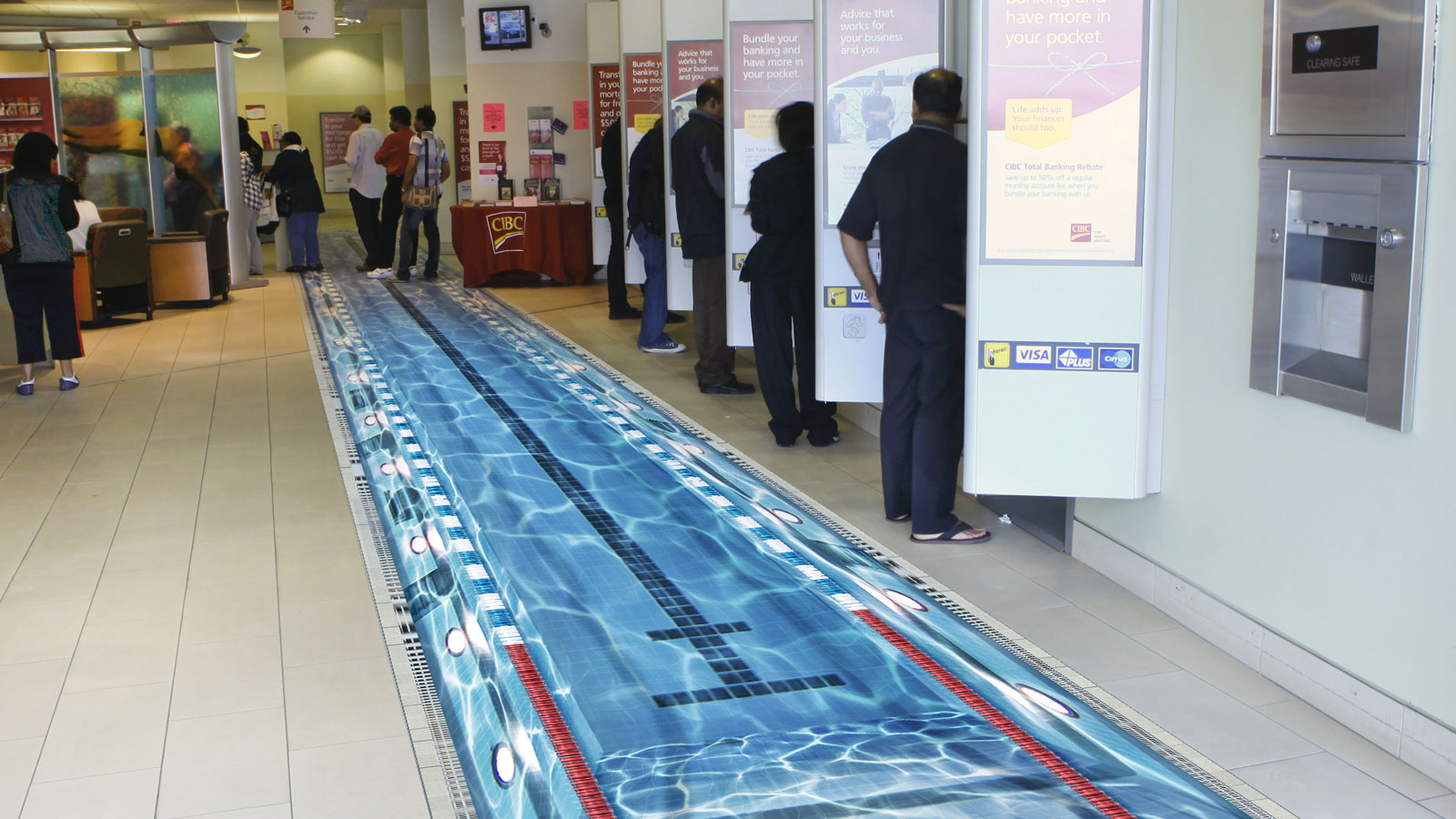 CIBC   Pan Am Branch Transformation   Event, Experiential