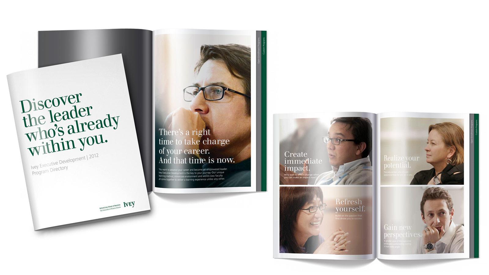 Ivey Business School at Western University | Programme de perfectionnement | Design, Imprimé