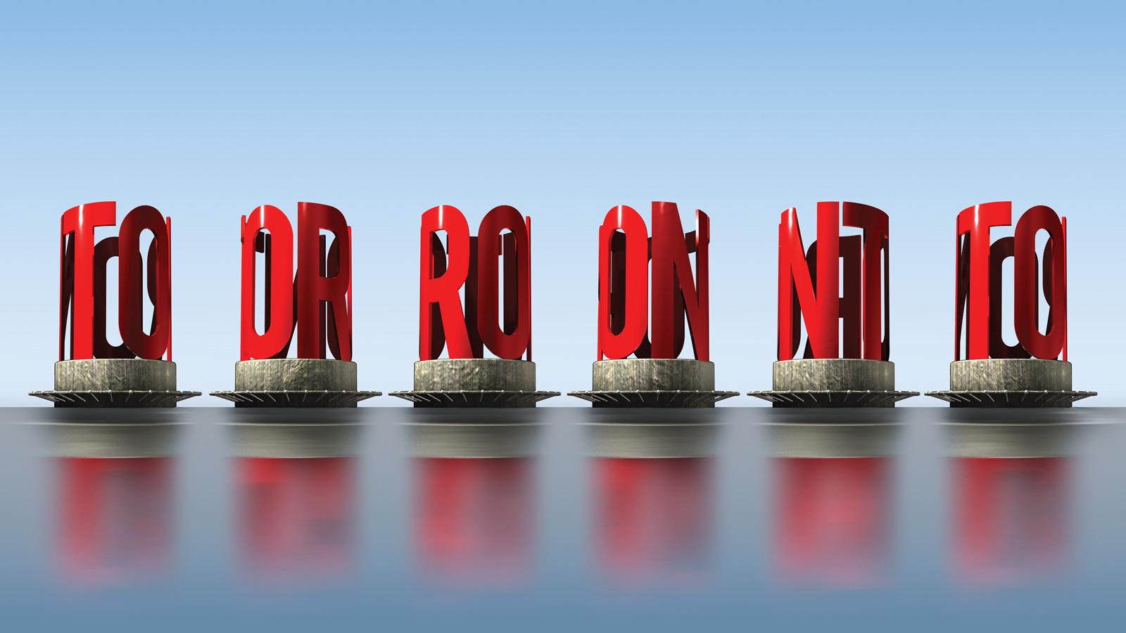 Toronto 360   Étude de cas – Sculpture Toronto 360   Agence créative, Design, Publicité, Stratégie, Stratégie de marque
