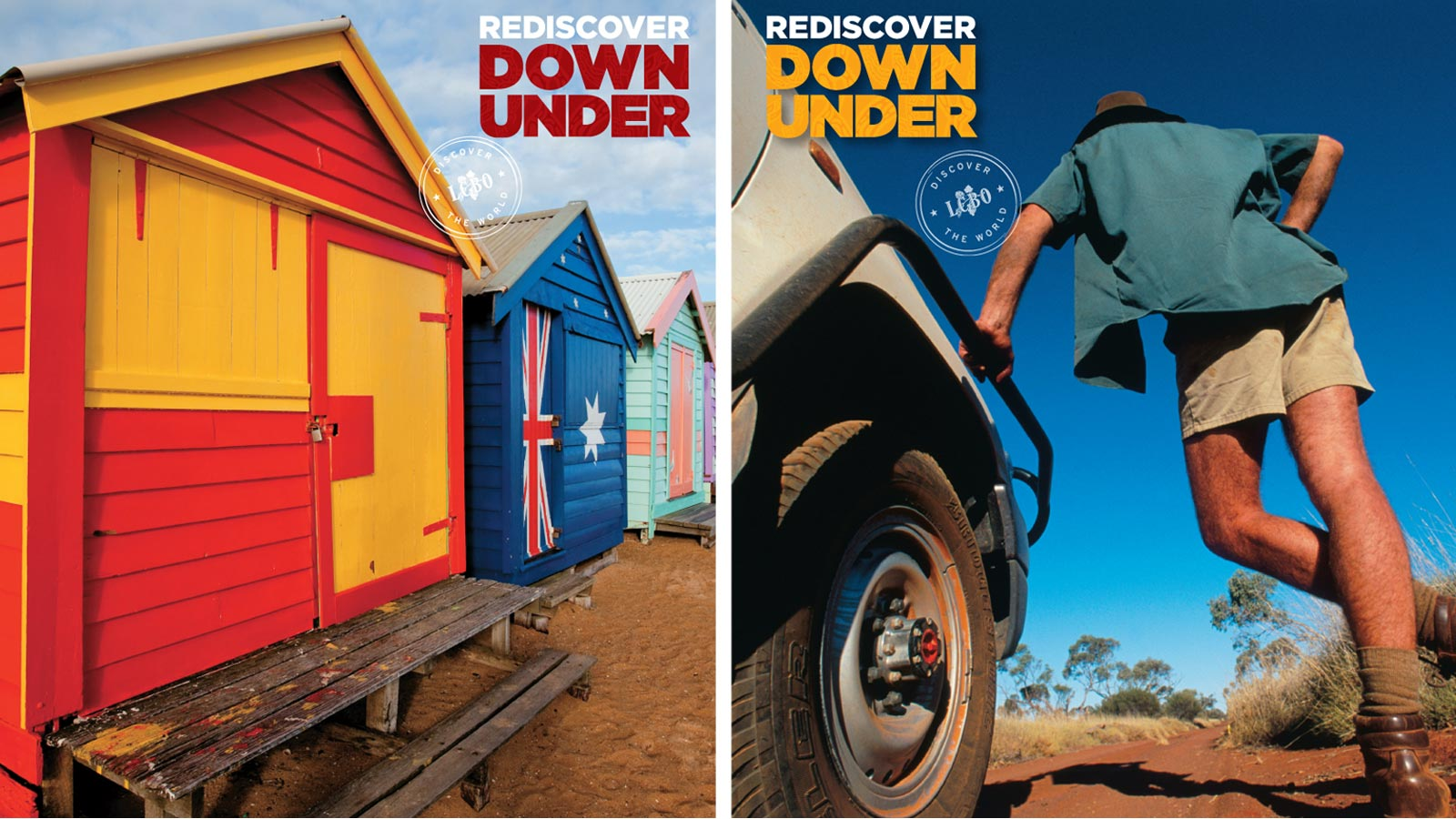 LCBO | Rediscover Down Under | Design, Retail