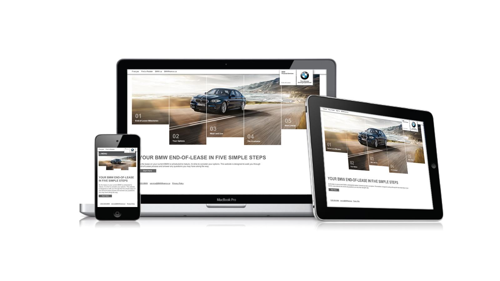 BMW Canada | End of Lease | Direct Marketing, Website Design & Development