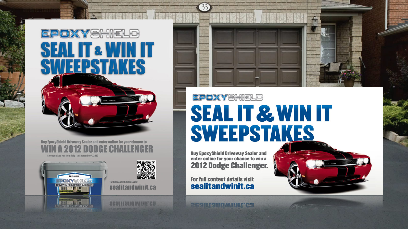 Rust-Oleum   Seal it & Win it Contest   Website Design & Development