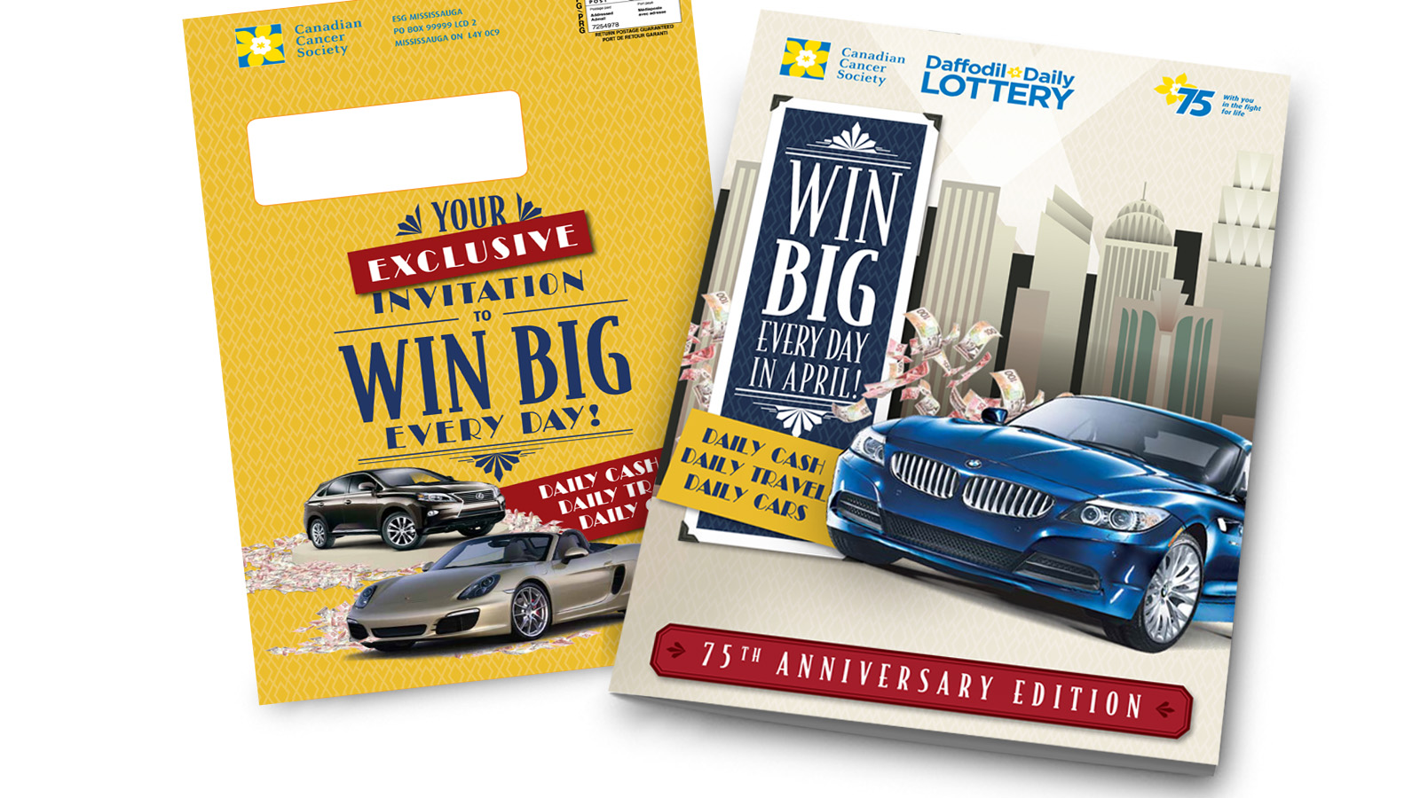 Canadian Cancer Society Lottery | Lottery Campaigns | Direct Marketing