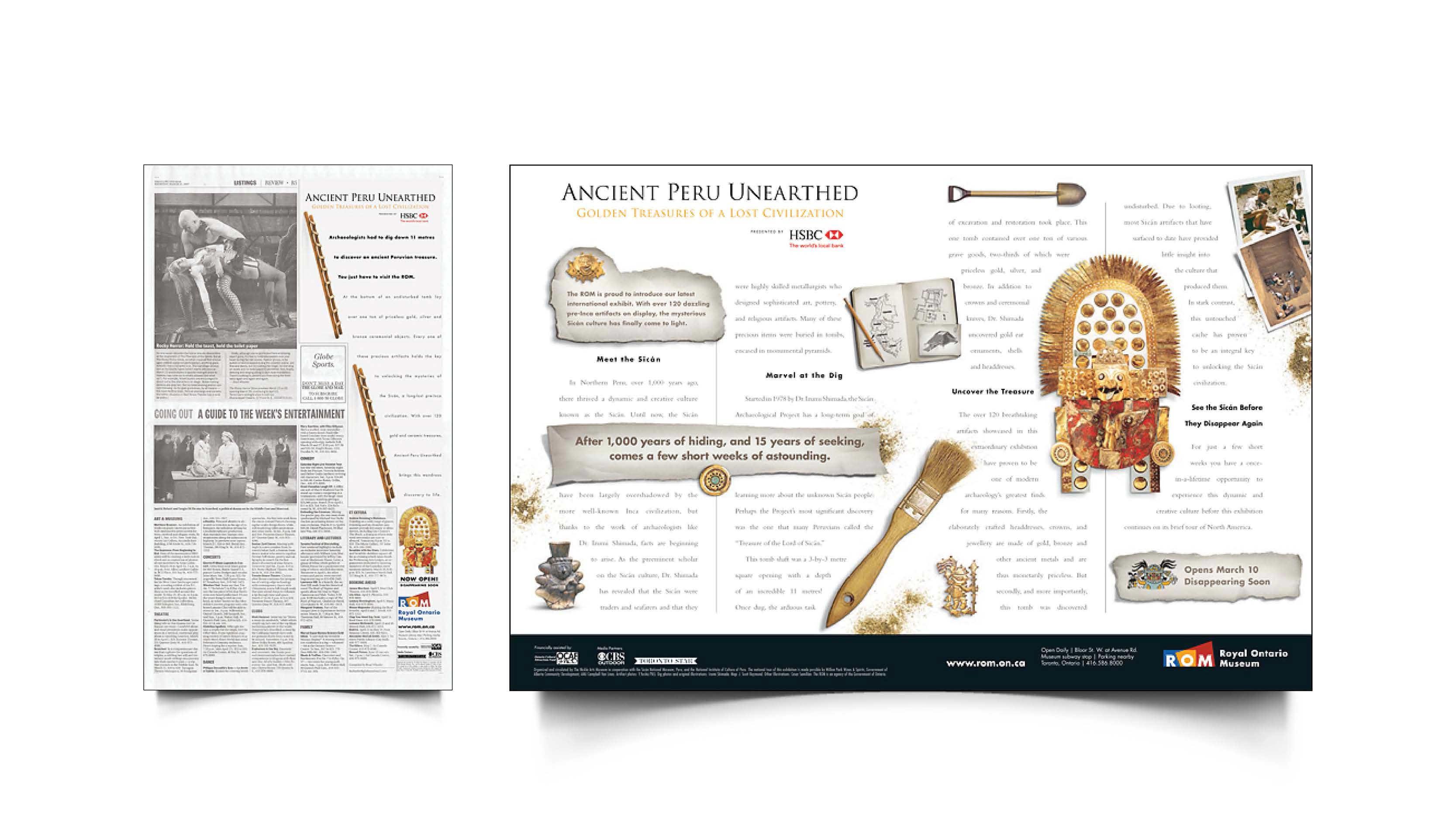 Royal Ontario Museum   Ancient Peru Exhibit   Design