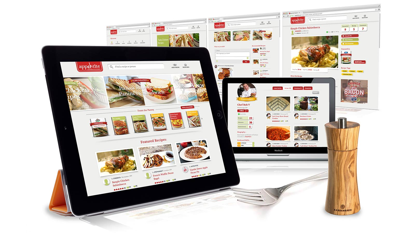 Dempster's | Social Media Recipe Hub | App Development, Digital Innovation, Digital Marketing, Mobile, Responsive Design