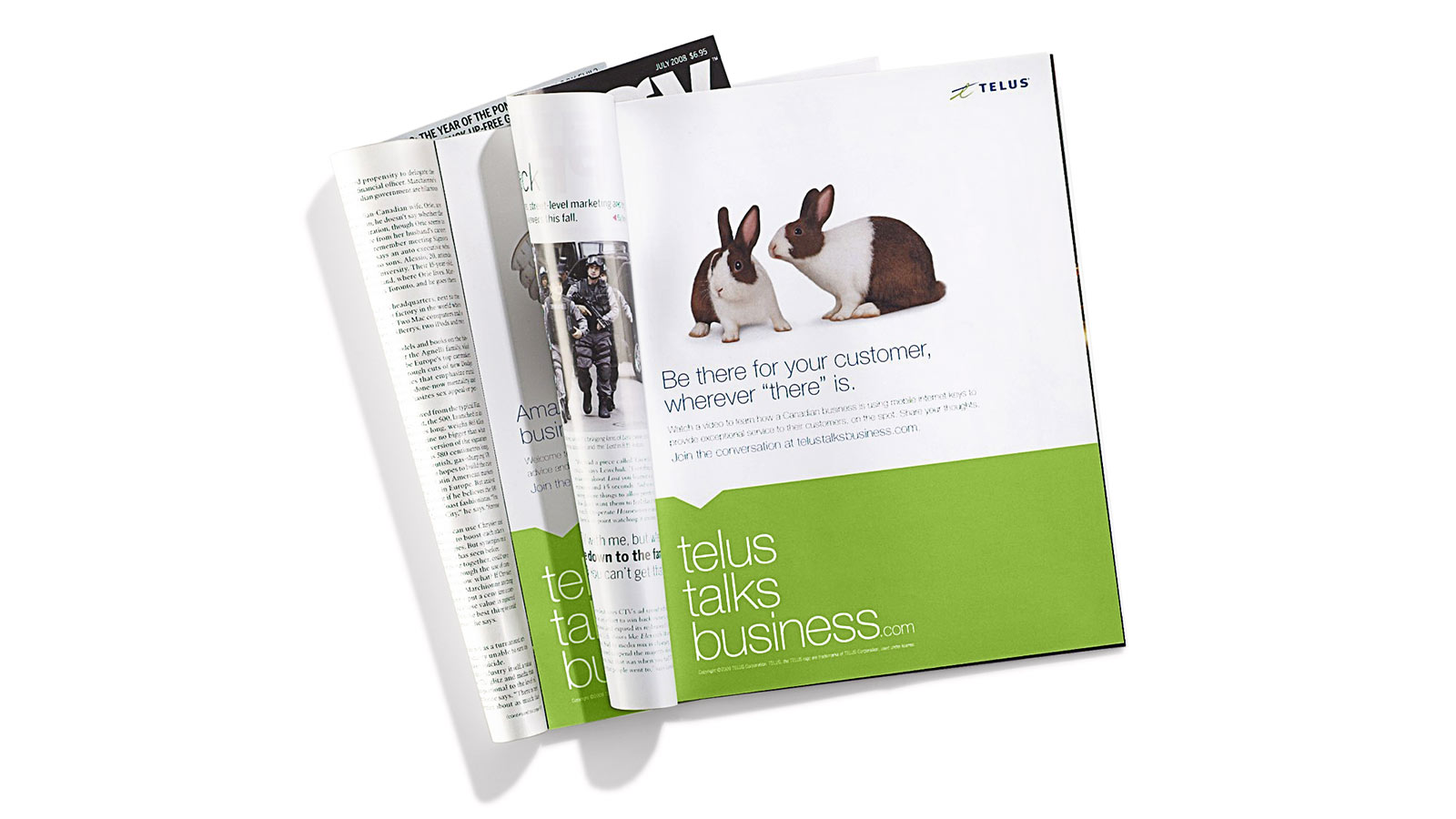 TELUS | TELUS Talks Business Campaign | App Development, Content Strategy & Marketing, CRM (Customer Relationship Marketing), Digital Innovation, Digital Marketing, Email Marketing, Responsive Design, Strategy