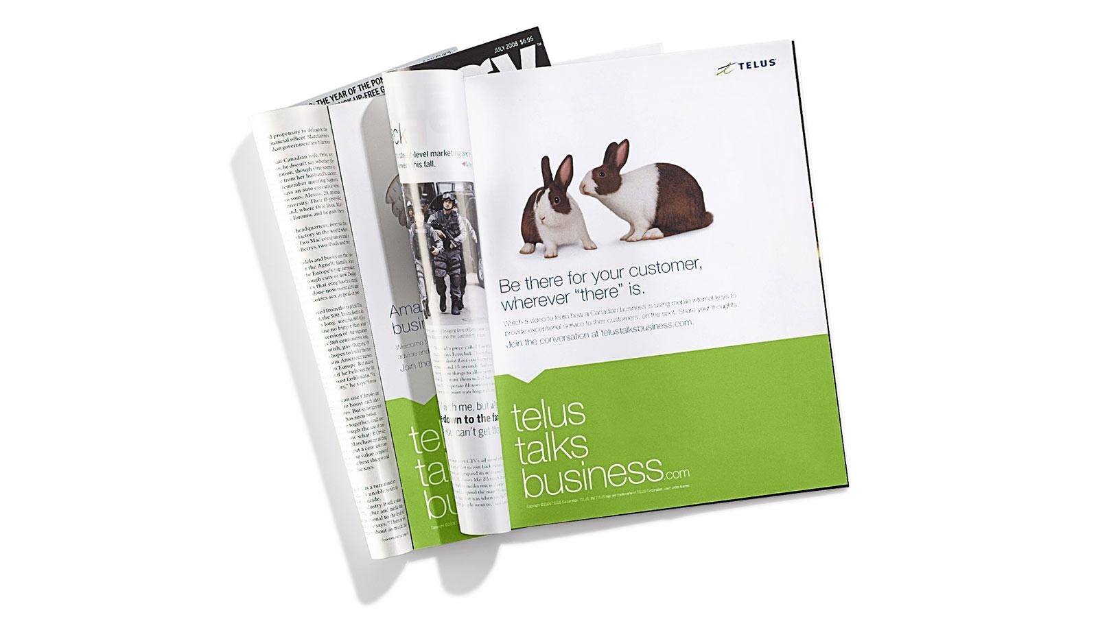TELUS | TELUS Talks Business Campaign | App Development, Content Strategy & Marketing, CRM (Customer Relationship Marketing), Digital Innovation, Digital Marketing, Email Marketing, Responsive Design, Strategy