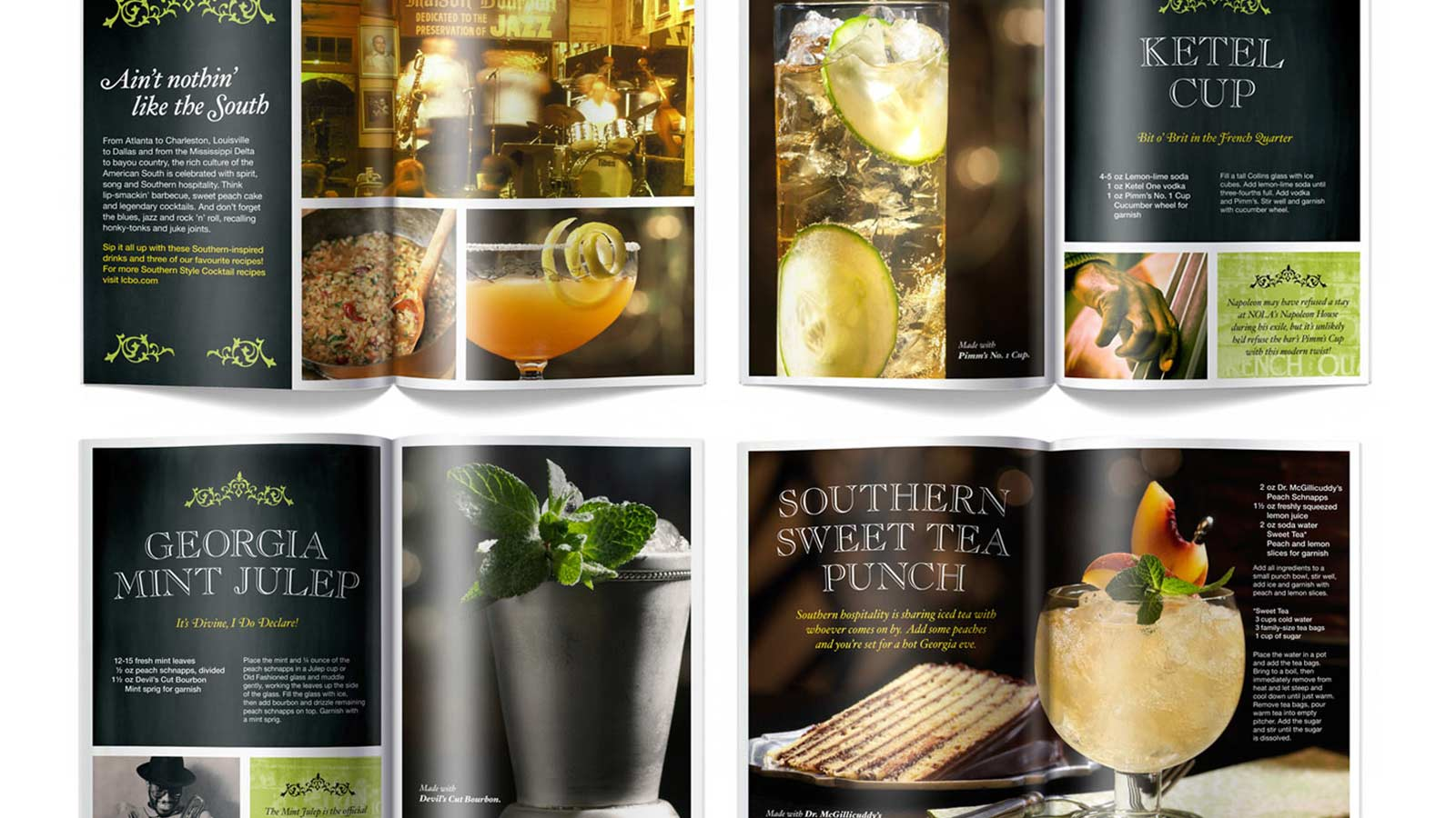LCBO | LCBO Southern Cocktails | Advertising, Brand Strategy, Design, Strategy