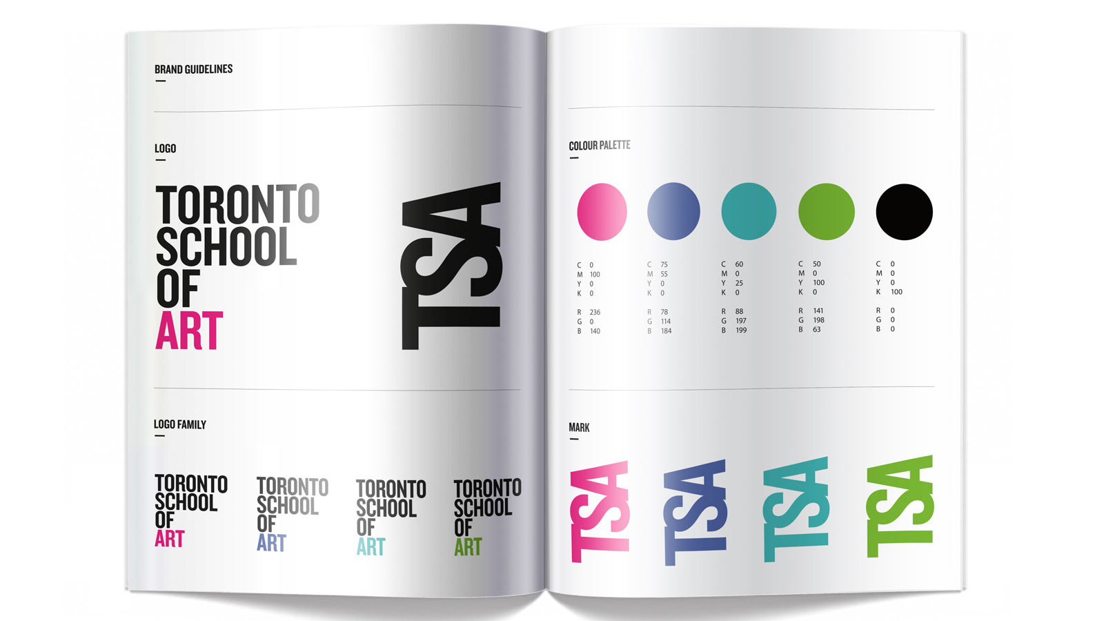 Toronto School of Art | Toronto School of Art Brand Refresh | Advertising, Branding, Education