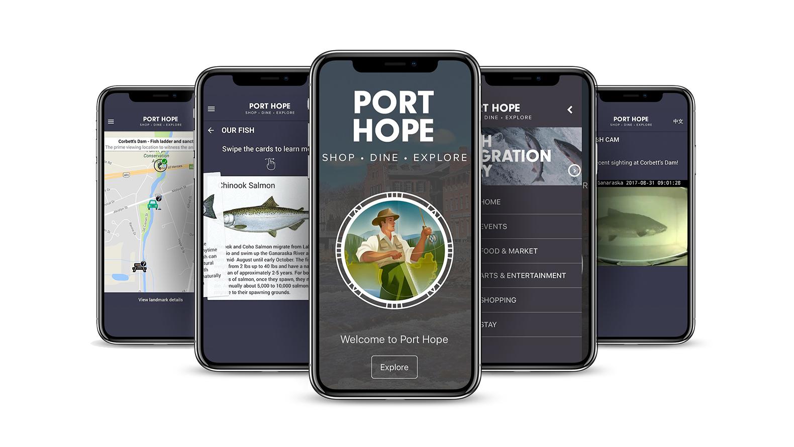 Port Hope Ontario | Port Hope Mobile App | App Development, Digital Innovation, Experiential, Mobile