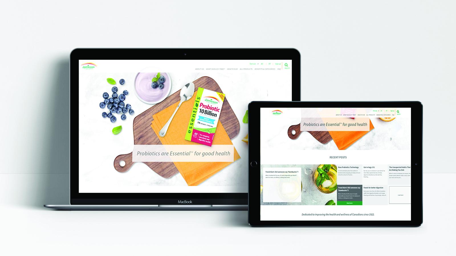 Jamieson Vitamins | Jamieson Vitamins – Website | Website Design & Development