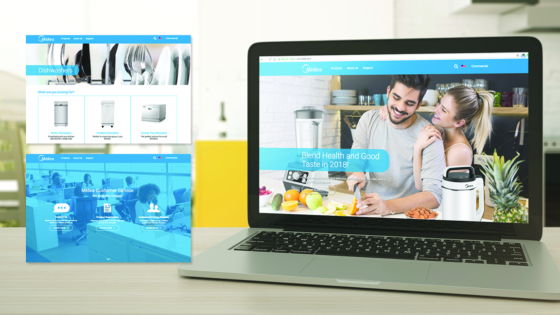 Midea | Midea | Website Design & Development