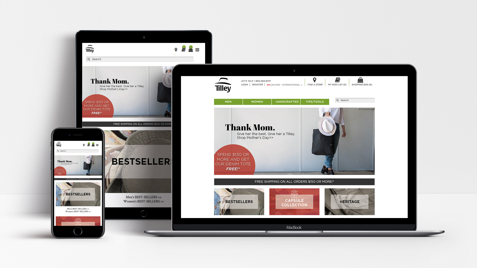 Tilley | Tilley Endurables – Website | E-Commerce, Magento, Mobile, Website Design & Development