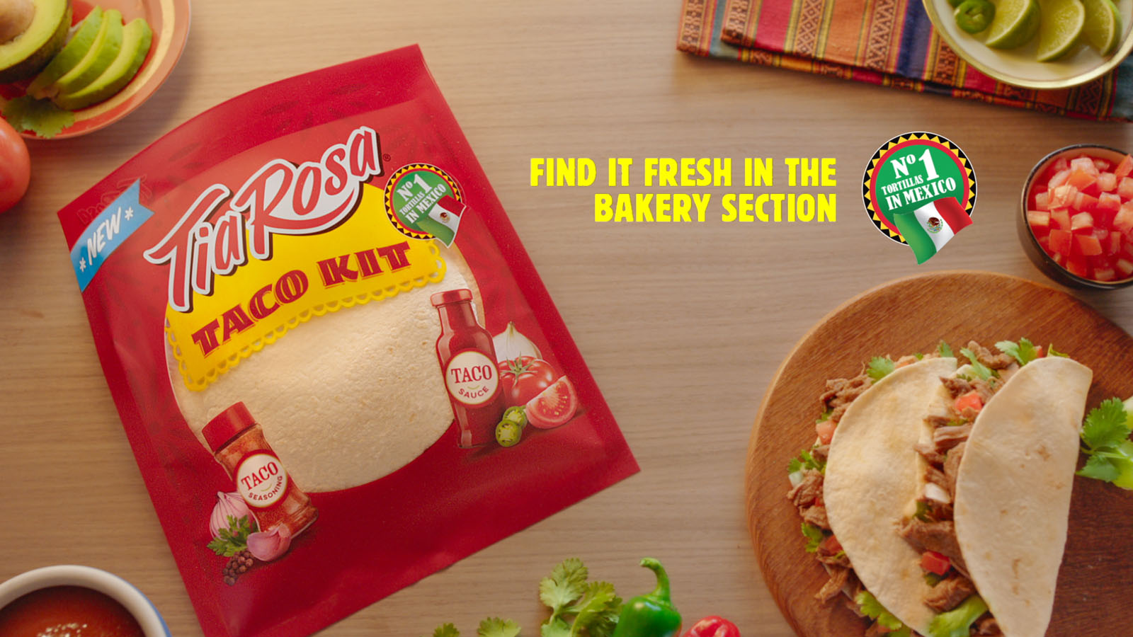 Canada Bread | Tia Rosa | Advertising