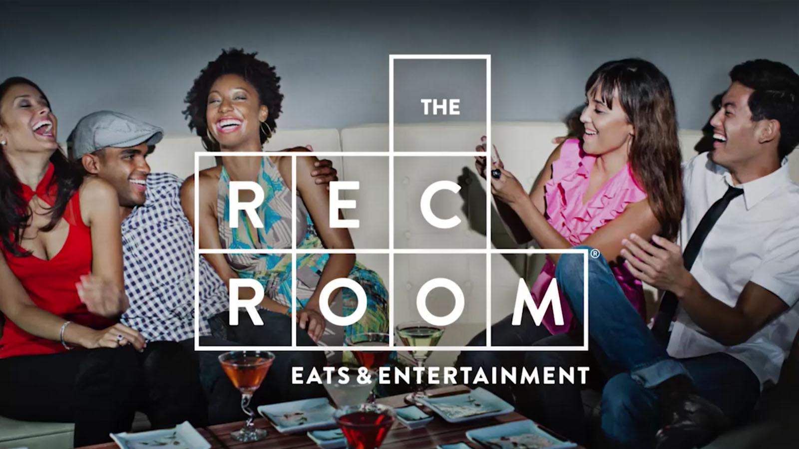 Cineplex Entertainment | The Rec Room | Brand Strategy, Branding