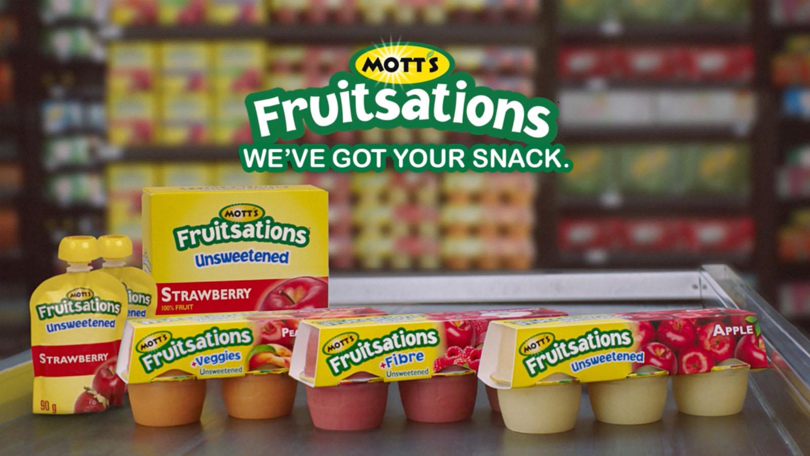 Canada Dry | Mott's Fruitsations | Advertising