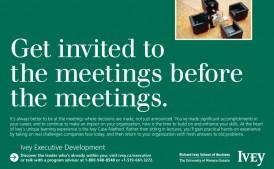 Ivey Business School at Western University | Executive Development Program | Design
