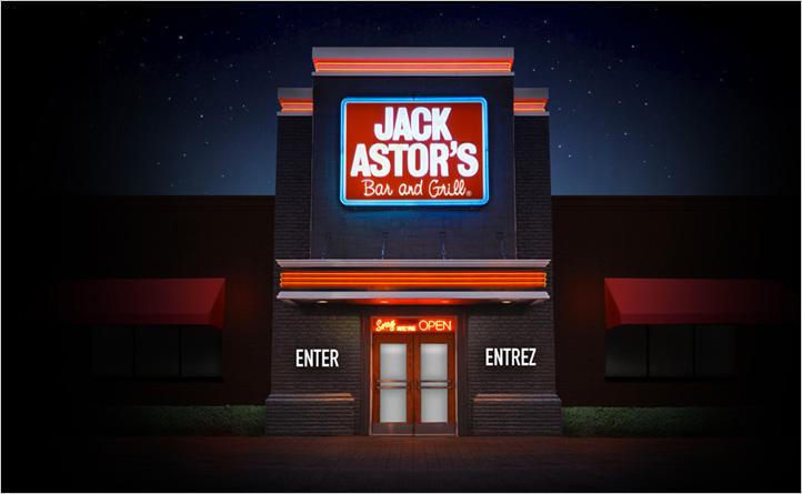 Jack Astor's | Website Redesign | Social Media, Website Design & Development
