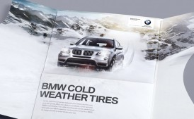BMW Canada | Snow Tires Cutting Through DM | Direct Marketing