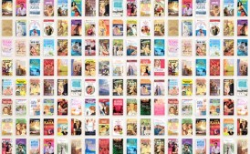 Harlequin | 60th Anniversary Book Cover Exhibit | Digital Marketing, Experiential