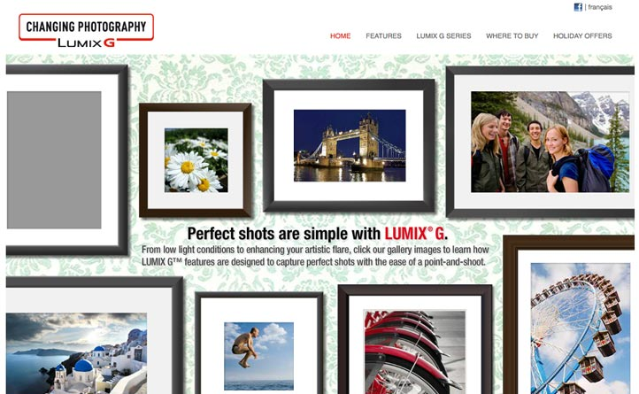 "Panasonic | LUMIX ""Perfect Shot"" | Digital Marketing, Website Design & Development"