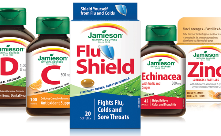 Jamieson Vitamins | FluShield Campaign | Brand Strategy, Digital Marketing, Website Design & Development