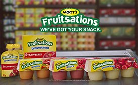 Canada Dry | Mott's Fruitsations | Advertising